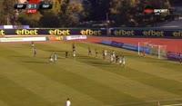 Martin Raynov scores in the match Beroe vs Pirin Blagoevgrad