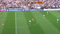 Joao Alves de Assis Silva scores in the match Corinthians vs Flamengo RJ
