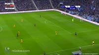 Jesus Manuel Corona scores in the match FC Porto vs Dep. La Coruna