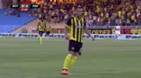 Felipe Brisola scores in the match Botev Plovdiv vs Partizani
