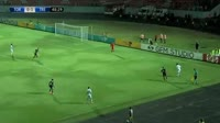 Giorgi Beridze scores in the match Torpedo Kutaisi vs Trencin