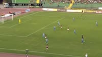 Anel Hebibovic scores in the match FK Sarajevo vs Zaria Balti