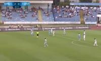 Joeri de Kamps scores in the match Slovan Bratislava vs Pyunik Yerevan