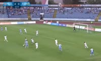 Boris Sekulic scores in the match Slovan Bratislava vs Pyunik Yerevan