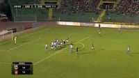 Marko Mihojevic scores own goal in the match FK Sarajevo vs Zaria Balti