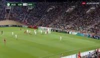 Libor Holik scores in the match Czech Republic U19 vs Georgia U19