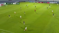 Ben Brereton scores in the match England U19 vs Germany U19