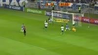 Jose Elber Pimentel da Silva scores in the match Cruzeiro vs Palmeiras