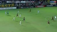 Lucas Ribamar Lopes dos Santos Bibiano scores in the match Vasco vs Atletico-PR
