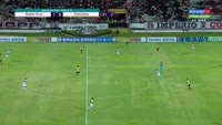 Silvio Jose Silvinho scores in the match Santa Cruz vs Criciuma