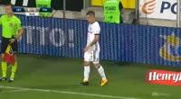 Dominik Nagy scores in the match Legia vs Piast Gliwice