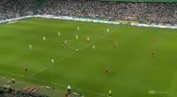 Guilherme Costa Marques scores in the match Legia vs Piast Gliwice