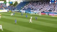 Vlastimil Danicek scores in the match Slovacko vs Ostrava
