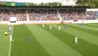 Marek Havlik scores in the match Slovacko vs Ostrava
