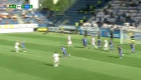 Martin Sindelar scores in the match Slovacko vs Ostrava