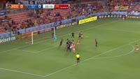 Alberth Elis scores in the match Houston Dynamo vs San Jose Earthquakes