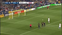 Ignacio Piatti scores in the match Philadelphia Union vs Montreal Impact