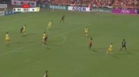 Cristiano da Silva scores in the match Shimizu vs Kashiwa