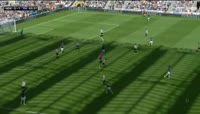 Ben Davies scores in the match Newcastle Utd vs Tottenham