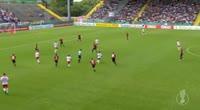 Timo Werner scores in the match Dorfmerkingen vs RB Leipzig