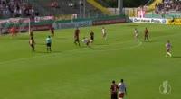 Naby Keita scores in the match Dorfmerkingen vs RB Leipzig