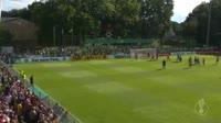 Ignacio Camacho scores in the match Eintracht Norderstedt vs Wolfsburg