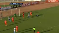 Hristo Zlatinski scores in the match CS Universitatea Craiova vs FC Botosani