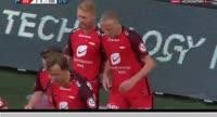 Kristoffer Barmen scores in the match Brann vs Odds BK