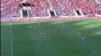 Rui Fonte scores in the match Braga vs Portimonense
