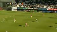 Halldor Bjornsson scores in the match Hafnarfjordur vs Braga