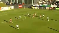 Nikola Stojiljkovic scores in the match Hafnarfjordur vs Braga