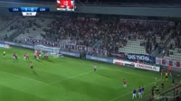 Michal Koj scores in the match Cracovia vs Gornik Z.