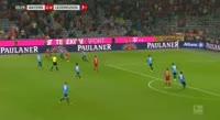 Bayern München 3-1 Bayer Leverkusen - Golo de R. Lewandowski (52min)