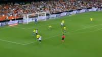 Valencia 1-0 Las Palmas - Golo de S. Zaza (22min)
