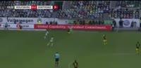 Wolfsburg 0-3 Borussia Dortmund - Golo de P. Aubameyang (60min)