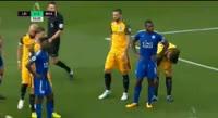 Leicester City 2-0 Brighton & Hove Albion - Golo de H. Maguire (54min)