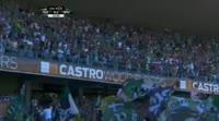 Vitória Guimarães 0-5 Sporting CP - Golo de B. Dost (23min)