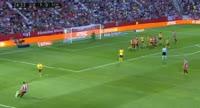 Girona 2-2 Atlético Madrid - Golo de C. Stuani (25min)
