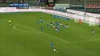 Arkadiusz Milik scores in the match Verona vs Napoli