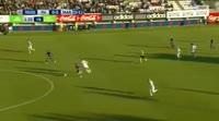 Marcos Tavares scores in the match Hafnarfjordur vs Maribor