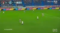 Teofilo Gutierrez scores in the match Junior vs Once Caldas