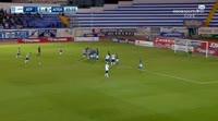 Eli Elbaz scores in the match Atromitos vs Smyrnis