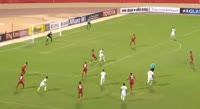 Omar Al Soma scores in the match Persepolis vs Al Ahli SC