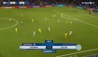 Astana 4-3 Celtic - Golo de P. Twumasi (49min)