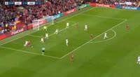 Mohamed Salah scores in the match Liverpool vs Hoffenheim