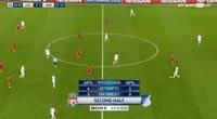 Roberto Firmino scores in the match Liverpool vs Hoffenheim