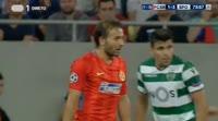 FCSB 1-5 Sporting CP - Golo de B. Dost (75min)