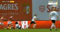 Sporting Braga 3-2 FH - Golo de B. Böðvarsson (16min)