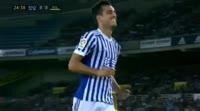 Real Sociedad 3-0 Villarreal - Golo de Willian José (25min)