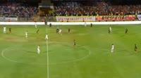 Samir Nasri scores in the match Yeni Malatyaspor vs Antalyaspor